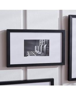 "Large Black Mounting Frame 6 ""X 4"" (15Cm X 10Cm)"