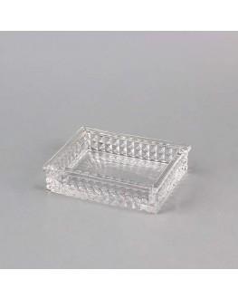 Glass Elegant Soap Dish