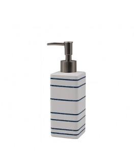 Nautical Stripes Ceramic Emulsion Dispenser